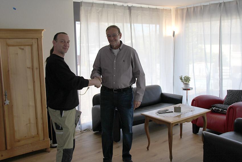 Stefan Perin - Kundenbeartung vor Ort