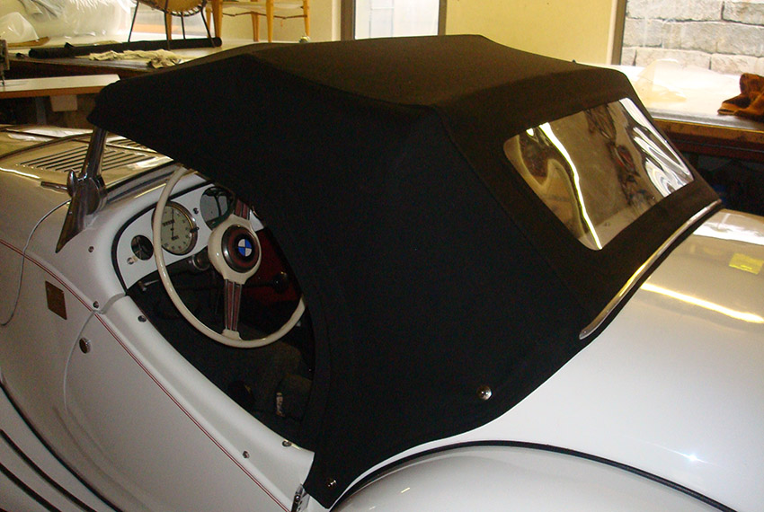 Handgefertigtes Verdeck BMW