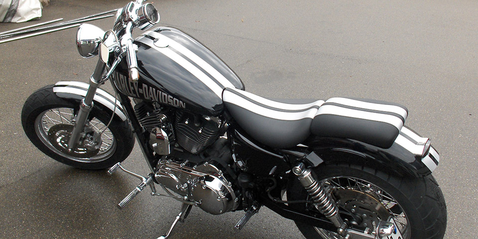 Motorradsattel Stefan Perin - Titelseitenbild