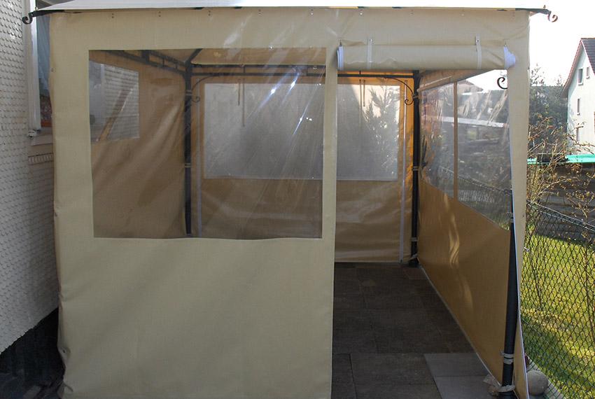 Perin Referenz Pavillon-Dach-u-Seitenwaende
