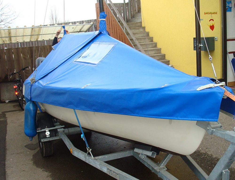 Segelboot-Persenning