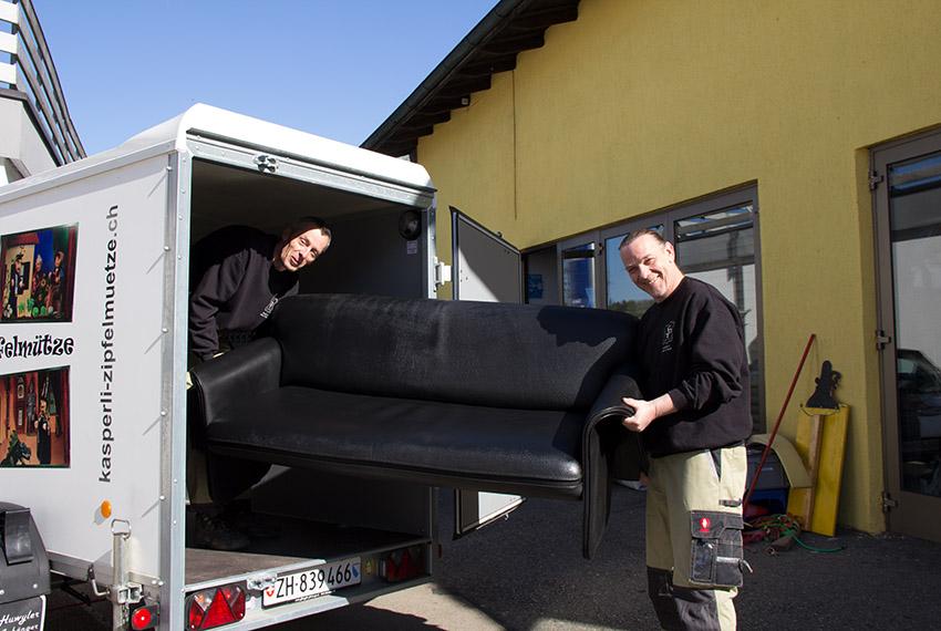 Transport von Wohnungseinrichtungen Stefan Perin