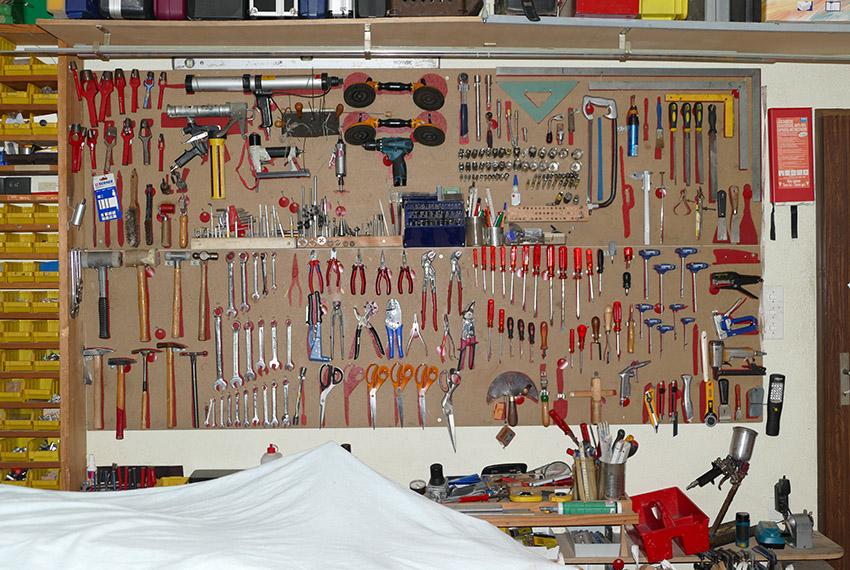 Werkzeuge Stefan Perin